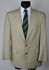 HUGO BOSS Multi Coloured Check Tartan Blazer UK 38 Eur 48 Gr Jacket Suit Plaid