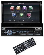 "Boss BV9977 7"" Touchscreen In Dash CD/DVD Car Player USB/SD AUX Receiver Radio"