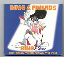 (JF733) Bugs & Friends, Sing Elvis - 1997 CD