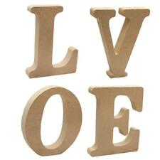 Wooden Free Standing Alphabet Letters Wall Plaque Party Venue DIY Decor LOVE