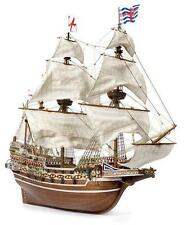 """Beautiful, brand new wooden model ship kit by OcCre: the """"Revenge""""  galleon"""