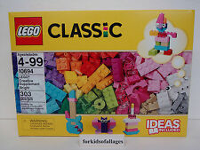 Lego Classic Set #10694 Creative Bright Supplement Pink Purple Bricks+ Idea Book