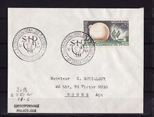 ec63/ Enveloppe   salon international des plastiques  Oyonnax      1963