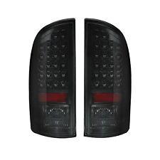 RECON 264171BK Dodge 02-06 RAM 1500 03-06 RAM 2500/3500 Smoked-Red Tail Lights