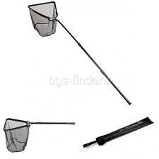 "Fishing Landing Net with Extending Telescoping Pole Handle Folding Aluminum 118"""