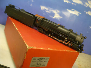 BRASS O Precision/KTM Pennsylvania Railroad M-1 4-8-2 C/P  NO RESERVE