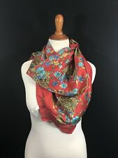 Vintage Polyester Scarf~Ray Strauss 32� Square