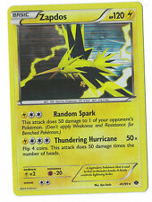 Zapdos 41/99 Holo B &W Next Destinies Card Pokemon Free Shipping Canada