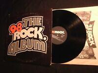 The 98 Rock Album - S/T - 1978 Promo Vinyl 12'' Lp./ VG+ / Southern Rock AOR