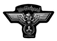 Motörhead Hammered Cut-Out Logo Patch [UK Import] Rock Memorabilia Motorhead