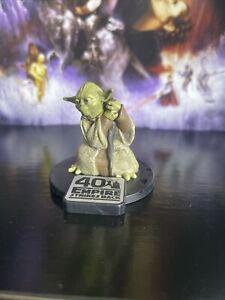 Disney YODA FIGURINE Cake TOPPER STAR WARS Empire Strikes Back Jedi Toy New