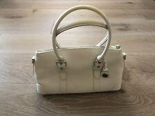 Coach Leather Handbag White Shoulder Bag