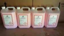 4 X 5 Litre Pink Quick Cleaner Fragrant Dash Dashboard Shine Sheen Silicone Car
