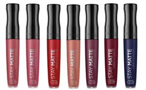 RIMMEL Stay Matte Liquid Lip Colour 5.5ml X 1 ITEM various shades use drop menu