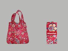 Mini Maxi Shopper By Reisenthel Paisley Ruby AT3067 Foldable Shopper