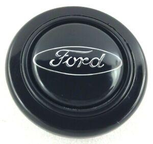 Genuine Momo steering wheel centre cap disc. Ford Logo silver. RARE! RS XR etc