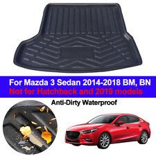 Mazda 3 Fastback de goma Estera de arranque en Coche Forro Protector de cubierta 13