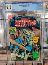 DETECTIVE COMICS #477 (1978) - CGC GRADE 9.6 - THE HOUSE THAT HAUNTED BATMAN!