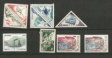 Monaco années 50/60 6 timbre-taxe & 3 timbres préoblitérés neufs MNH /TR163