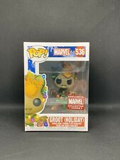 Funko Pop! Groot (Holiday) #536 Marvel Collector Corps Exclusive