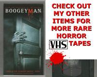 BOOGEYMAN 2004 Horror VHS SONY video Movie Gore Cult Slasher Sex
