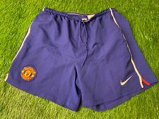 MANCHESTER UNITED ENGLAND 2008/2009 FOOTBALL SHORTS AWAY NIKE ORIGINAL SIZE XL