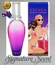 MARINE GROOVE 100ml EDT  ESCADA  Spray Perfume  For Women  NEW In Box  (BNIB)
