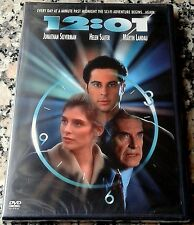 12:01 NEW RARE DVD Jonathan Silverman Martin Landau Groundhog Day Time Travel