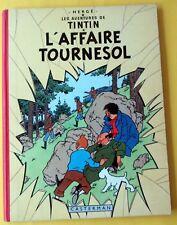 TINTIN HERGE L'AFFAIRE TOURNESOL B30 1961 SUPERBE ETAT