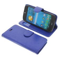 Tasche für Acer Liquid Jade S Book-Style Schutz Hülle Handytasche Buch Blau