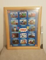 Rare Sealed Large Framed Picture Thomas The Tank Engine/ Trackmaster Decor
