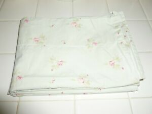 Nice Simply Shabby Chic Green With Pink Roses Standard Pillowcase Set
