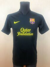 BARCELONA 2011/2012 AWAY FOOTBALL SOCCER SHIRT JERSEY NIKE ADULT SIZE S
