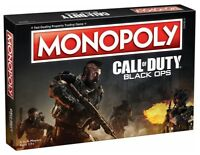 NEW Hasbro USAopoly Monopoly CoD Call of Duty Black Ops 4 Edition Board Game NIB