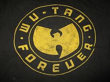 "Wu-Tang Clan ""Forever"" (Med) T-Shirt Rza Gza Method Man Raekwon U-God Ghostface"