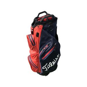 Titleist Stadry Cart Bag / Blue/Red / 14-Way Divider / CC00449C90