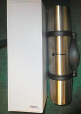 New Zippo® 3-in-1 Thermo Vacuum Flask 24oz 7550-56 SL DTE energy logo