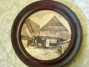 Original Signed Oil on wood by Litvaj, Slovakia 1977