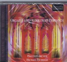 ORGAN FAVORITES FROM NORWICH CD NEW MALCOM ARCHER