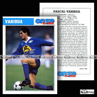 VAHIRUA PASCAL (AJ AUXERRE AJA) - Fiche Football 1990
