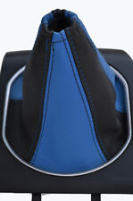 FITS FORD MONDEO Mk3 03-2006 GAITER BEST LEATHER L BLUE
