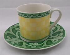 Villeroy & and Boch SWITCH SUMMERHOUSE large breakfast cup and saucer used