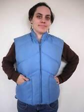 Vintage 70s Eastern Mountain Sports Ems Goose Down Puffer Blue Ski Vest S-M