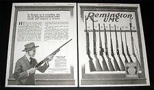 1917 OLD MAGAZINE PRINT AD, REMINGTON UMC FIREARMS, AMMUNITION, RESPECT SERVICE!