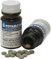 Water Purification Tablets POTABLE AQUA Giardia NEW