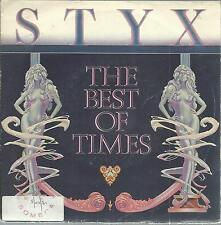 45 TOURS 2 TITRES / STYX   THE BEST OF TIMES               A