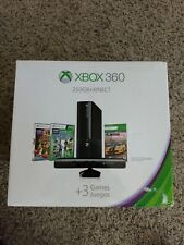 Brand New Xbox 360 Slim 'E' Console 250GB With Kinect And 3 Games! *RARE BUNDLE*