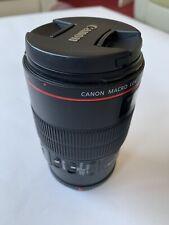 100mm f/2.8 Canon EF EF IS L USM Obiettivo macro in condizioni eccellenti