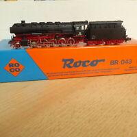 Roco 02106 A Spur N Dampflok BR 043 315-1 mit Öltender der DB Epoche 4 neuwertig