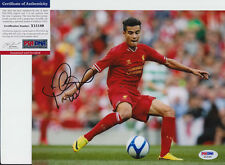 PHILIPPE COUTINHO BRAZIL LIVERPOOL SIGNED AUTOGRAPH 8X10 PHOTO PSA/DNA COA #3